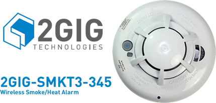 2gig announces a new wireless smoke heat freeze detector worthington di. Black Bedroom Furniture Sets. Home Design Ideas