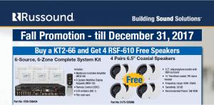 Russound promo - no pricing
